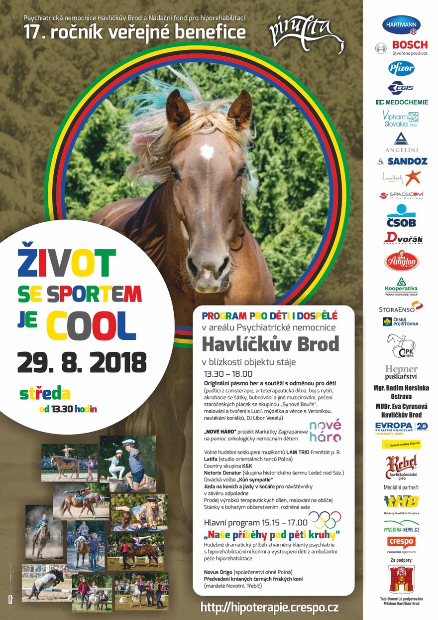 Benefice 2018 - Život se sportem je cool